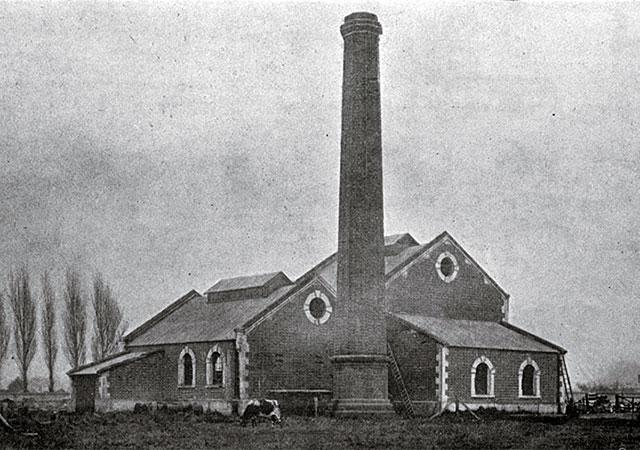 The original Pump House Buildings Christchurch